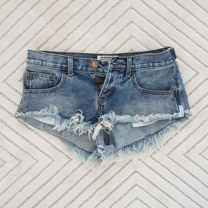 One Teaspoon No 2s cutoff shorts
